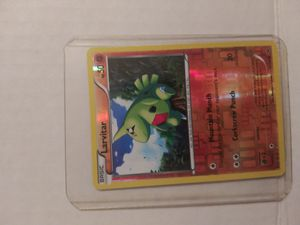 LARVITAR REVERSE HOLOGRAPHIC 41/124 POKEMON CARD-MINT-PACK FRESH!!! for Sale in El Paso, TX