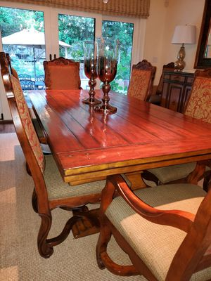 Plank dining table by Z Gallerie for Sale in Walnut Creek, CA
