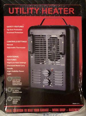 New/unused 1500 watt utility heater for garage or shop for Sale in West McLean, VA