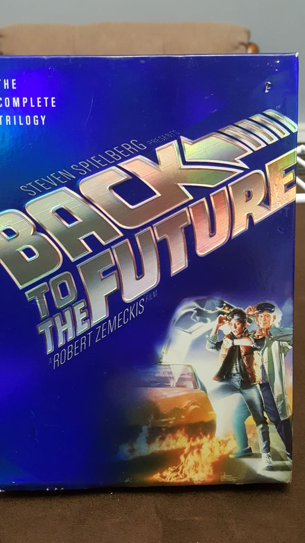 Back To The Future Dvd's / The Complete Trilogy