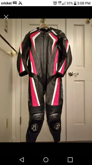 Rst leather race suit size 42/52 in good condition, a little wear on the inside of the knees.alot of protection for the money for Sale in Denver, CO