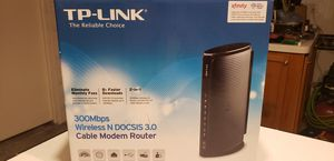 Tp-link modem router. for Sale in San Antonio, TX