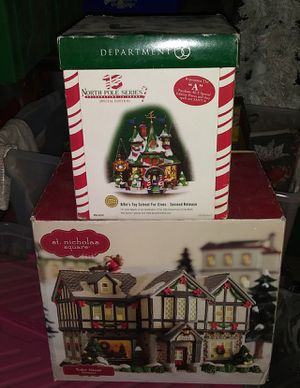 DEPT 56 NORTH POLE SERIES for Sale in French Camp, CA