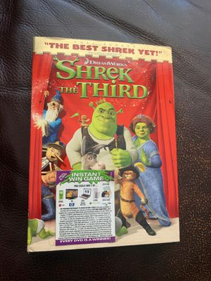 Shrek The Third DVD for Sale in Los Angeles, CA