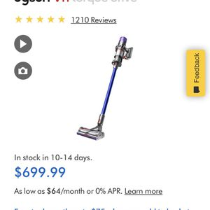 dyson v11 torque drive for Sale in Houston, TX