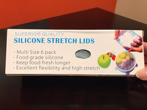 Silicone Stretch Lid (6 Pack) for Sale in Virginia Beach, VA