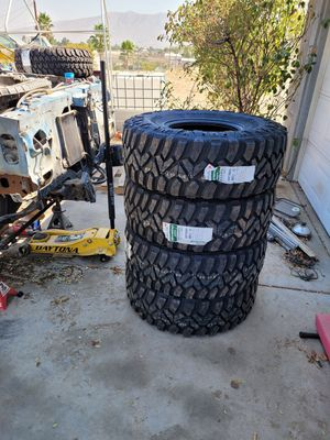 35 12.5 r15 new tires for Sale in Hesperia, CA