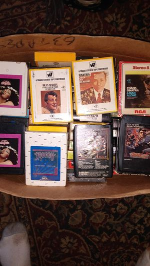 59 EIGHT TRACK TAPES FROM THE 70's for Sale in Lincoln, NE