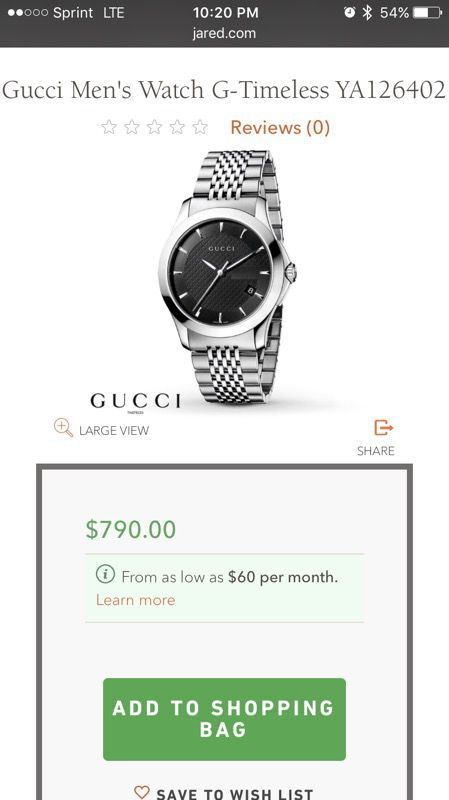 a11077ca008 Brand new men s Gucci watch. for Sale in San Jose