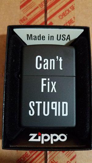 Zippo can't fix stupid black matte 28664 for Sale in Los Angeles, CA