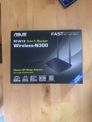 Asus router brand new for Sale in Henderson, NV