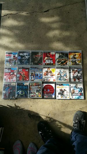 PS3 games for Sale in Lodi, CA