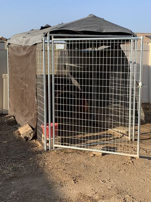 "Kennel for dogs 🐕 8""by 10"" welded not chain linked for Sale in Winchester, CA"