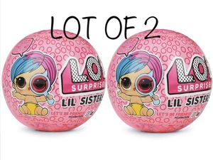 LOL SURPRISE! lol Sisters Series 4 Wave 2 NEW LOT OF 2 for Sale in Miami, FL