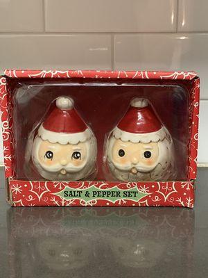 Johanna Parker Santa Salt/Pepper Shakers for Sale in West Covina, CA