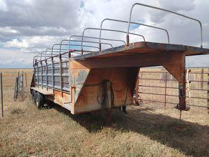 21 ft Stock Trailer for Sale in Albuquerque, NM