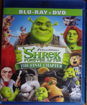 Shrek Forever After (Blu-ray only) for Sale in San Diego, CA