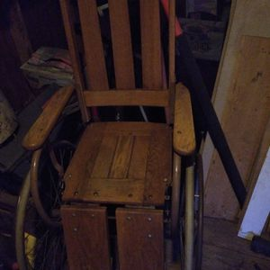 Antique Gendron Oak Wheelchair for Sale in Chico, CA