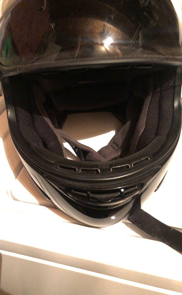Extra large motorcycle helmet