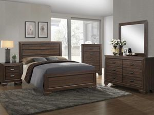 Dark Brown Bedroom Furniture Set! for Sale in Albuquerque, NM