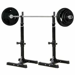 NEW Adjustable Multi-Function Barbell Stand Squat Rack Home Gym Equipment for Sale in Las Vegas, NV