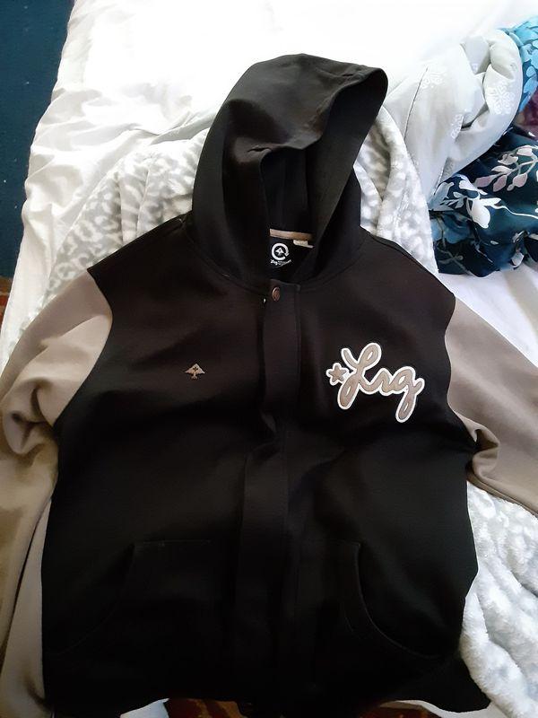 LRG Letterman jacket 25$