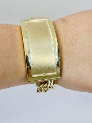 10 karat gold chino link bracelet custom handmade (# MMCH02) for Sale in Baytown, TX