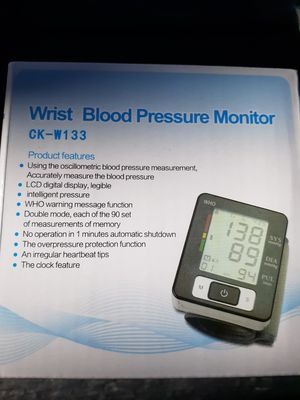 Wrist blood pressure monitor New for Sale in Montclair, CA