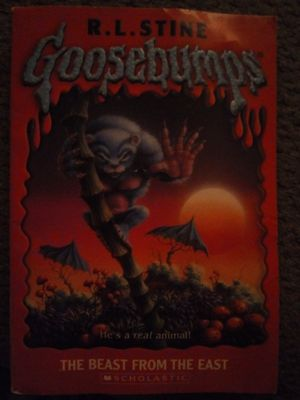 Book, Goosebumps,Beast from the East for Sale in Fresno, CA