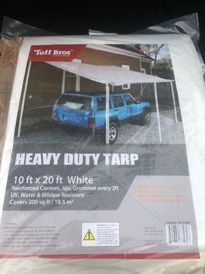 Tarp. 10x20 brad new no poles for Sale in Montclair, CA
