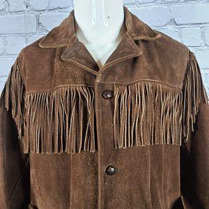 Vintage Berman Buckskin Fringe Jacket, Small for Sale in Maricopa, AZ
