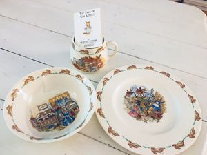 Antique 3-piece fine china Bunnykins Collector's Table Setting for Sale in Burke, VA
