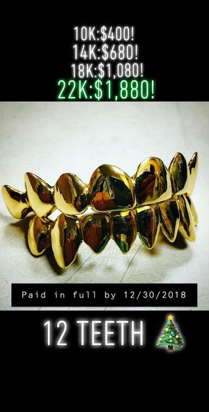 Gold Grillz Special New Year's for Sale in Chandler, AZ