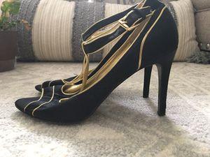 Black heels size 8 for Sale in Ashburn, VA