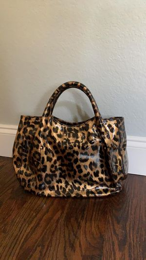 Kate Spade leopard purse with dust bag for Sale in Frisco, TX