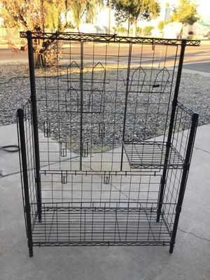"RACK/STAND WORKS GREAT 55"" TALL 39"" WIDE for Sale in Glendale, AZ"