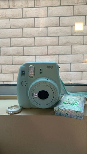 Blue Instax Polaroid Camera for Sale in Anaheim, CA