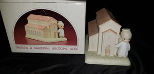PRECIOUS MOMENTS THERE'S A CHRISTIAN WELCOME HERE SPECIAL COMMEMORATIVE CHAPEL EXCLUSIVE 523011 for Sale in Dallas, TX