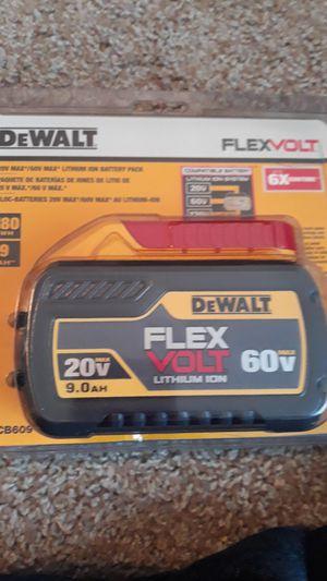 Dewalt flexvolt 9.0ah for Sale in Spring, TX