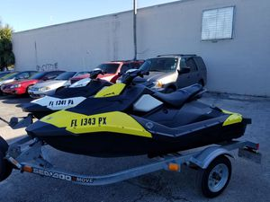 2015 Seadoos sparks 2up in perfect condition for Sale in Jacksonville, FL