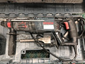 Hammer Drill, Tools-Power Bosch bulldog Xtreme In Case Used .. Negotiable for Sale in Baltimore, MD