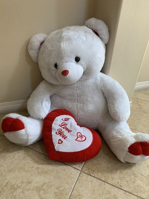 Huge Bear - I love you. Stuffed Animal. $20 for Sale in Claremont, CA