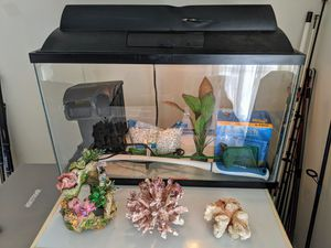 10 Gallon Fish Tank with all accessories for Sale in West McLean, VA