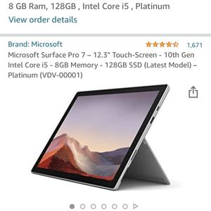 2020 Microsoft Surface Pro 7 for Sale in Mulino, OR