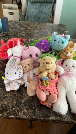 Stuffed animals - Winnie the Pooh, Yoshi, Hello Kitty and others for Sale in Long Beach, CA