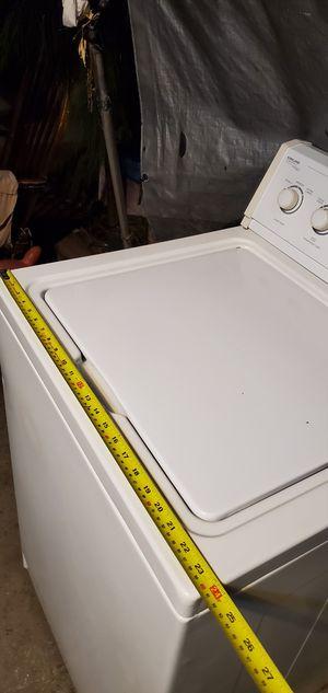 """Lavadora whirpool Kirkland heavy duty con garantía para poco espacio 24"""" tina de peltre $150 for Sale in Lynwood, CA"""