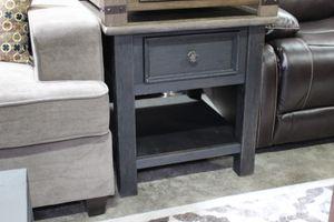 Rectangular End Table, Greyish Brown, #T736-3 for Sale in Santa Fe Springs, CA