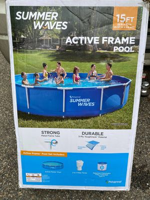 15ft Brand new pool for Sale in Conway, MA