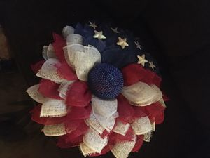 July 4th wreath for Sale in New Braunfels, TX