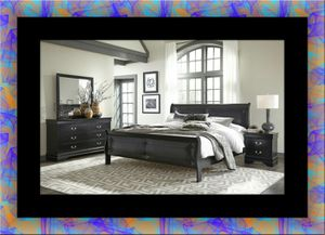11pc black Marley bedroom sets free delivery for Sale in Crofton, MD